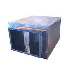 贺州消声静压箱-微穿孔消声静压箱-鹤轩空调(优质商家)图片