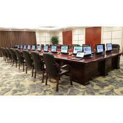 会议桌升降架|会议桌升降|格创会议桌升降器厂家图片