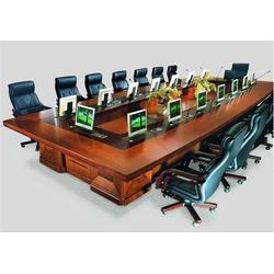 电动升降会议桌,建阳升降会议桌,电脑升降会议桌厂家(查看)图片