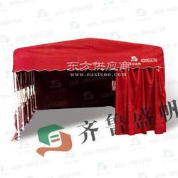 带滑轮推拉帐篷烧烤大排档用帐篷、防雨帆布帐篷厂家图片