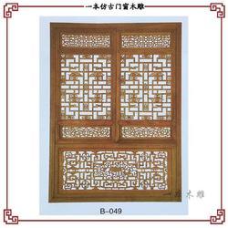 东阳市一本木雕装饰工程亚博ios下载、中式装修 仿古门窗图片