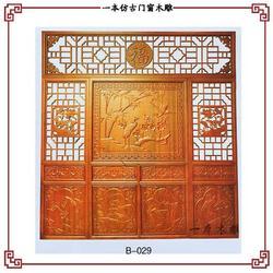 山东仿古门窗、中式装修仿古门窗、一本木雕(优质商家)图片