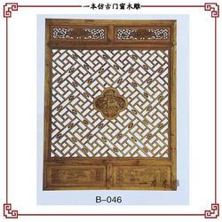 中式古建门窗工程-一本木雕(在线咨询)-湖北古建门窗图片