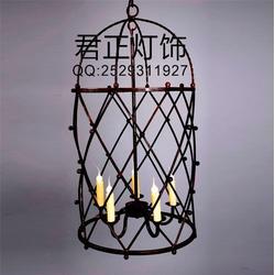 君正灯饰(图)、鸟笼水晶灯、鸟笼灯图片