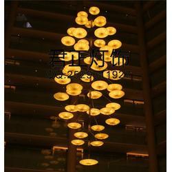 饭店布艺灯|君正灯饰(在线咨询)|布艺灯图片