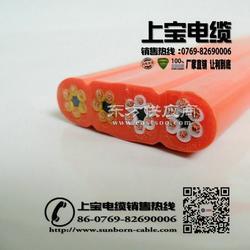 扁平电缆,100.75mm2TVVB扁平线,天车扁线图片