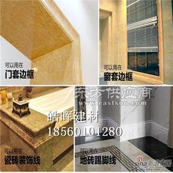 仿石材的石塑电梯套线工厂图片