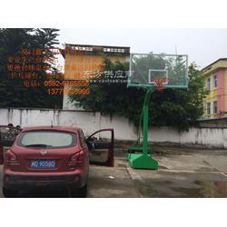 鑫玉山篮球架成人篮球架钢化玻璃篮球架图片