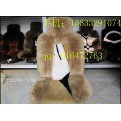 羊剪绒汽车坐垫生产厂家 羊毛坐垫 羊毛汽车坐垫图片