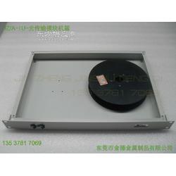 供应1U铝型材光纤传输模块机箱图片