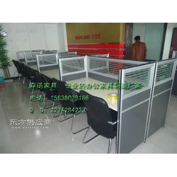 隔断办公桌,隔断式电脑桌,带隔断的办公桌图片