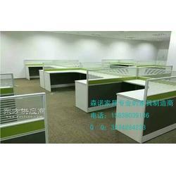 4人隔断办公桌_6/8人钢架式屏风办公桌怎么选择图片