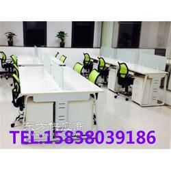 钢架电脑桌报价,钢架办公桌,员工专用钢架腿桌子实拍大图图片