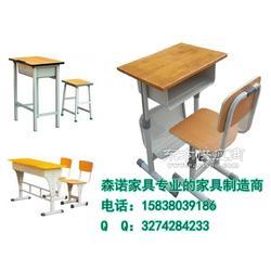 双柱双斗课桌椅,双斗升降式课桌凳,厂家力荐产品图片