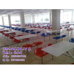 哪里订做学校食堂餐桌椅更便宜图片