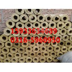 大城岩棉保温管壳供应商图片