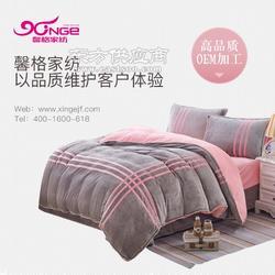 床上用品工厂太难选不如来馨格家纺包您满意图片
