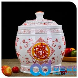 陶瓷罐子 陶瓷罐子定做 陶瓷蜂蜜罐 陶瓷储物罐图片