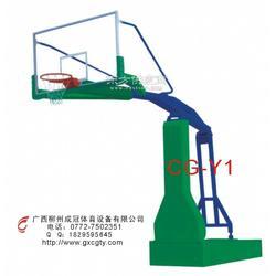 贺州液压球场篮球架图片