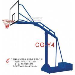 贺州比赛型篮球架图片