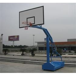 电动液压篮球架_惠州篮球架_蓝点体育器材图片