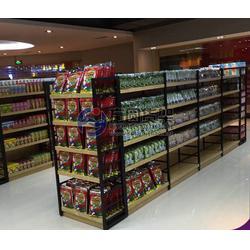 超市散货架生产哪家好,潍坊散货架,方圆货架(多图)图片