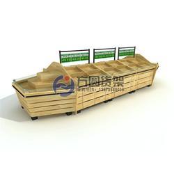 钢木水果货架-泰安方圆货架加工厂-贵州钢木水果货架图片