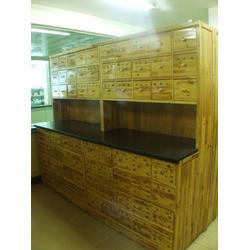 实木中药柜定做-实木中药柜-泰安方圆货架厂(查看)图片