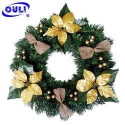 山西圣诞装饰、欧力工艺品款式多样、圣诞装饰厂家图片