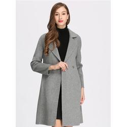 双面羊毛大衣,宇之巅,女士双面羊毛大衣图片