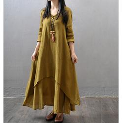 东北棉麻服装品牌-东北棉麻服装-宇之巅 棉麻女装图片