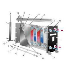 河南板式换热器费用、斌奎环保设备(在线咨询)、河南板式换热器图片