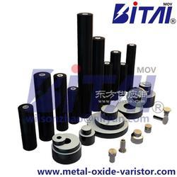避雷器芯体、杜力顿、氧化锌电阻片、避雷器电阻片图片