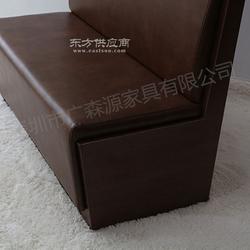 供应茶餐厅卡座定做 茶餐厅沙发卡座定做厂家图片