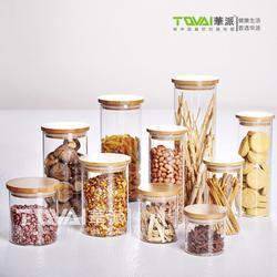 茶叶玻璃密封罐厂家直销_广州亿珍莱_广东茶叶玻璃密封罐图片