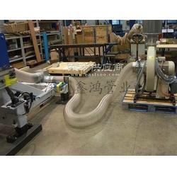 大口径钢丝软管 塑料钢丝软管 塑料钢丝缠绕软管图片