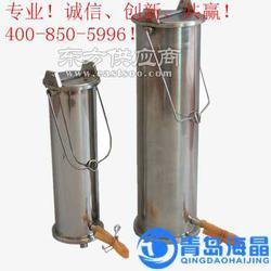 海晶HJ-800B型不锈钢采水器深水采样器分层采水器图片