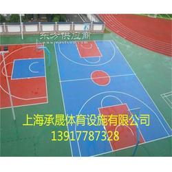 小区塑胶篮球场厂家图片