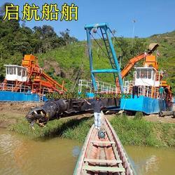 抽沙船、云南临沧抽沙船、陕西安康绞吸抽沙船型号图片
