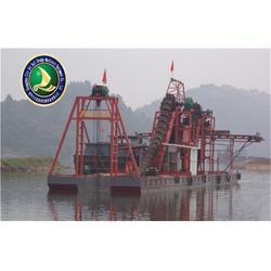 挖沙船、青州启航链斗式挖沙船、小型挖沙船的图片