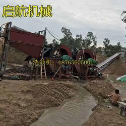 轮式洗沙机好用(图)_100吨轮式洗沙机_轮式洗沙机图片