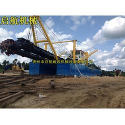 挖泥船|启航疏浚|耙吸式挖泥船设备图片