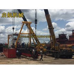 启航疏浚_广西绞吸式挖泥船_大型沿海绞吸式挖泥船图片