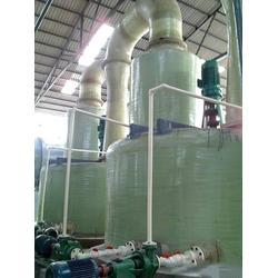 玻璃钢脱硫塔生产厂家|晟隆玻璃钢|喀什地脱硫塔图片