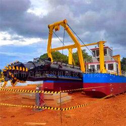 绞吸式抽沙船-大型绞吸式抽沙船挖沙船-启航疏浚售后好图片