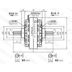 电磁离合器厂家 吉林电磁离合器 奇灵机电(查看)图片