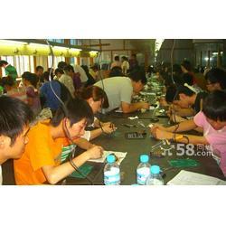 妇女在家做手工活,仁寿县手工活,珍珠串珠加工办厂图片