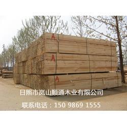 工程木方、顺通木材、辐射松建筑工程木方图片