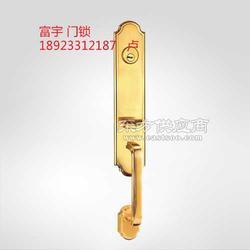 锌合金门锁欧标大拉手锁别墅大门锁锁芯生产厂家图片