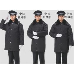 保安服棉大衣、物业保安棉大衣(在线咨询)、虹桥区棉大衣图片